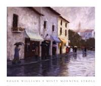 Misty Morning Stroll Fine-Art Print