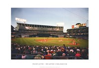 Oakland, McAfee Coliseum Fine-Art Print