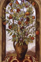 Bouquet Of Figs, Pears And Pomegranates Fine-Art Print