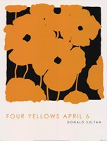 Four Yellows April 6 Fine-Art Print
