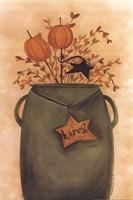 Pumpkin Sticks & Pips Fine-Art Print