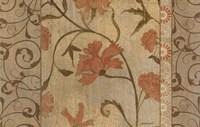 Antique Floral Vine Fine-Art Print