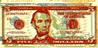 Five Dollar Bill Fine-Art Print