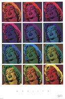 Marilyn Monroe - Pop Art! Wall Poster