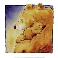 Mother Bear's Love I Fine-Art Print