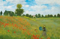 Champs de Coquelicots Wall Poster