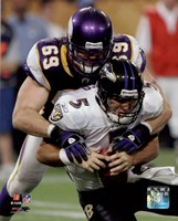Jared Allen 2009 Action Fine-Art Print