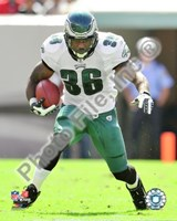 Brian Westbrook 2009 Action Fine-Art Print