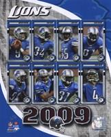 2009 Detroit Lions Team Composite Fine-Art Print