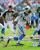 Julius Peppers 2009 Action Fine-Art Print