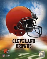 2009 Cleveland Browns Team Logo Fine-Art Print
