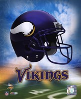 2009 Minnesota Vikings Team Logo Fine-Art Print
