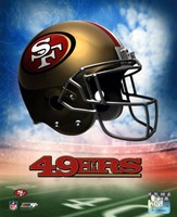 2009 San Francisco 49ers Team Logo Fine-Art Print