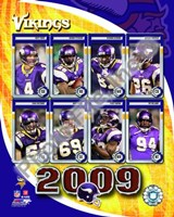 2009 Minnesota Vikings Team Composite Fine-Art Print