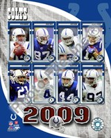 2009 Indianapolis Colts Team Composite Fine-Art Print