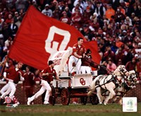 Sooner Schooner Mascot of the Oklahoma Sooners 2007 Fine-Art Print