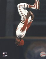 Ozzie Smith Flipping Action Fine-Art Print