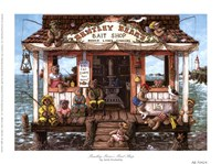 Bentley Bear's Bait Shop Fine-Art Print