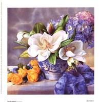 Moonlit Magnolia Fine-Art Print