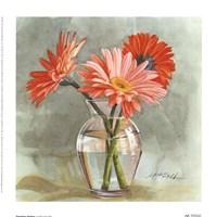 Tangerine Gerbera Fine-Art Print