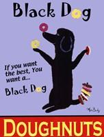 Black Dog Doughnuts Fine-Art Print