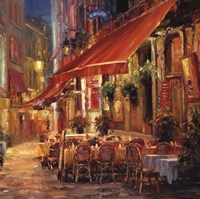 Cafe in Light Fine-Art Print