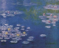 Waterlillies at Giverny Fine-Art Print