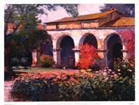 Capistrano Mission Delight Fine-Art Print