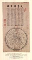 Map of the Main Stars in the Visible Realm, (The Vatican Collection) Fine-Art Print