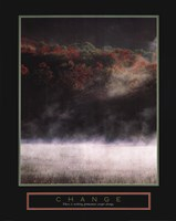 Change - Misty Lake Fine-Art Print