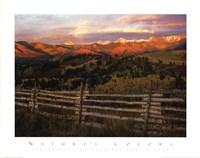 Cimmaron Range Sunset Fine-Art Print
