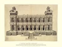 Facade d'un Palais, (The Vatican Collection) Fine-Art Print