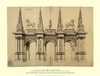 Facade avec Elephants, (The Vatican Collection) Fine-Art Print