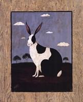 Folk Bunny Fine-Art Print