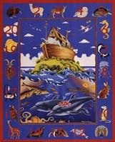 Noah's Ark Numbers Fine-Art Print