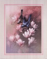 Birds with Blossoms Fine-Art Print