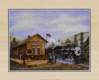 Pine Valley Station Fine-Art Print