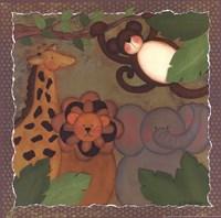 Jungle Friends Fine-Art Print