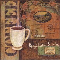 Coffees of the World - Brazil Fine-Art Print