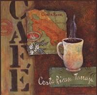 Coffees of the World - Costa Rica Fine-Art Print
