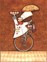 Escargot Chef Fine-Art Print