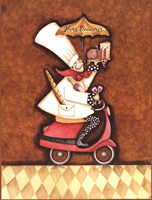 Hors D'oeuvre Chef Fine-Art Print