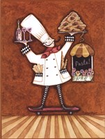 Pasta Chef Fine-Art Print