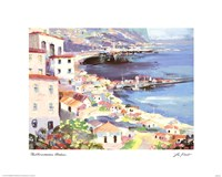 Mediterranean Harbor Fine-Art Print