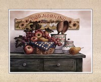 Good Morning Plaque Fine-Art Print