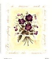 Floral Violet Fine-Art Print