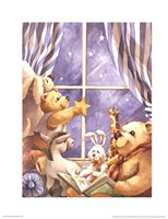 Teddy Bear Stars Fine-Art Print