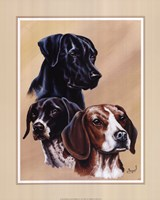 Dog Collage II Fine-Art Print