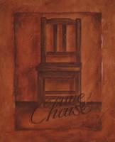 Une Chaise Fine-Art Print