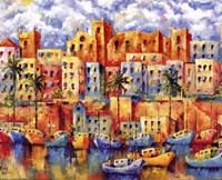 Boat Harbor Fine-Art Print